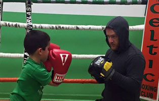 Coach Dan Letz youth boxing