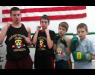 Celtic Youth Boxers